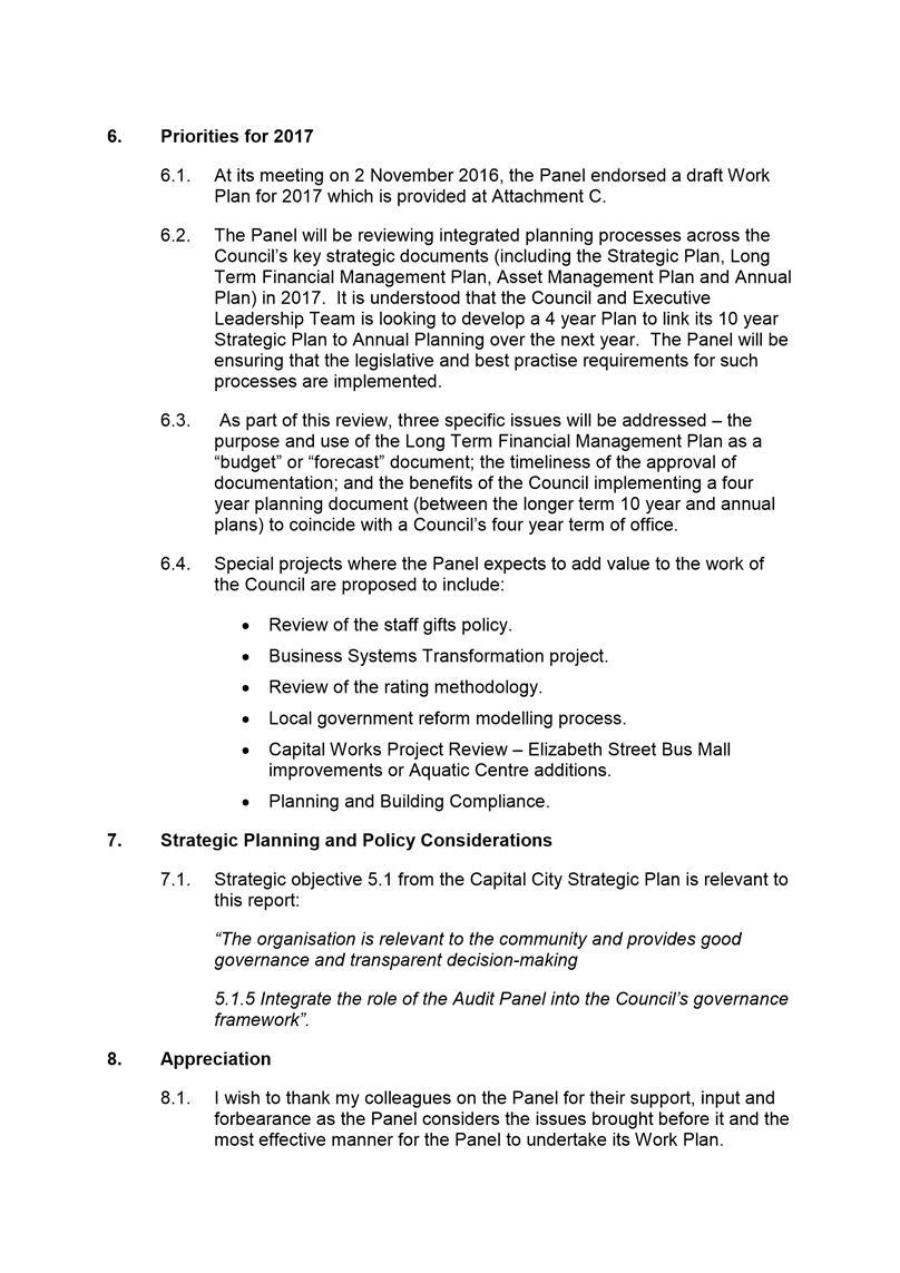 special audit report