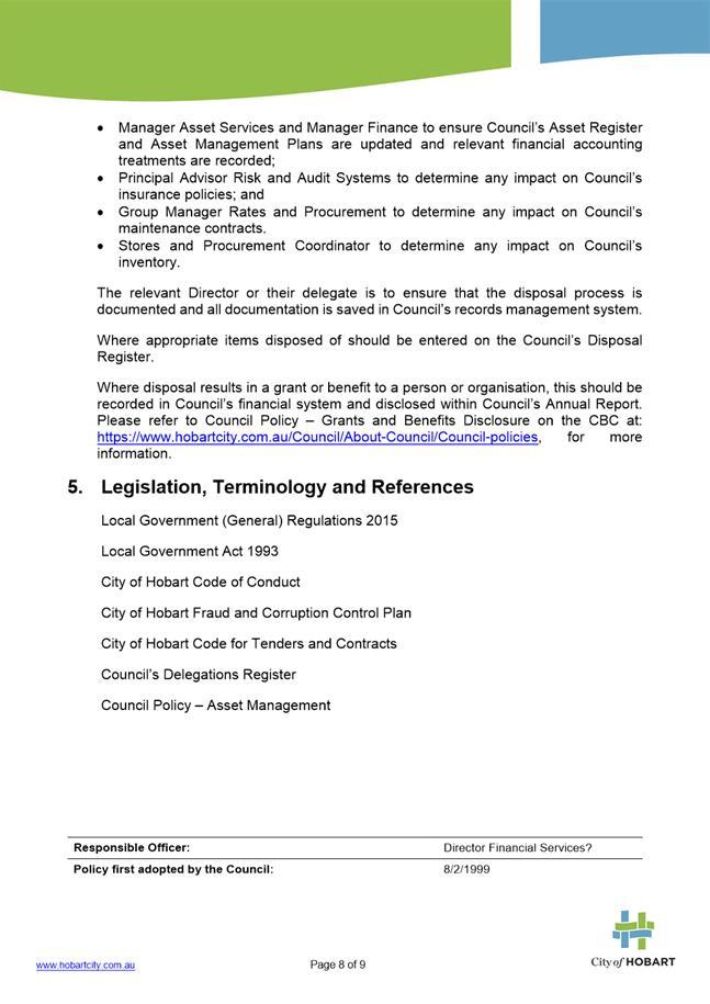 Agenda of Finance Committee Meeting - 12 December 2017